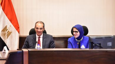 Photo of وزيرا الصحة والاتصالات يبحثان التصور النهائى لميكنة التامين الصحى الجديد استعدادا للتنفيذ فى بورسعيد