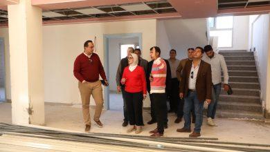 Photo of وزيرة الصحة تتفقد أعمال تطوير مستشفى الفيروز التخصصي ومركز صحة الزهراء بطور سيناء