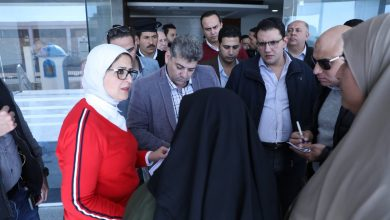 Photo of وزيرة الصحة تتفقد مستشفى أبورديس بجنوب سيناءوتستجيب لمطالب المرضى