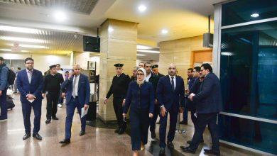 Photo of وزيرة الصحة تتفقد الحجر الصحي بمطار القاهرة و إجراءات مشددة للتصدي لفيروس كورونا