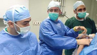 Photo of مستشفى المطرية يجرى عملية تثبيت مفصل الكتف بالمنظار ضمن مبادرة قوائم الانتظار