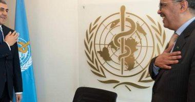 "Photo of بسبب كورونا.. رئيسا ""الصحة والسياحة"" العالمية يتجنبان المصافحة باليد"