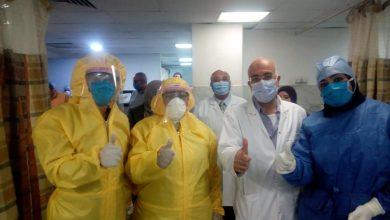 Photo of رئيس المستشفيات التعليمية يطمئن على العاملين بمعهد القلب عقب اصابة ممرض بكورونا