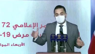 Photo of «الصحة الكويتية»: شفاء 1469 حالة من «كورونا» و710 إصابات جديدة