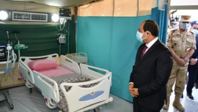 Photo of ننشر الصور الأولى لتفقد الرئيس السيسى تجهيزات القوات المسلحة للعزل الصحي