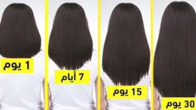 Photo of وصفة طبيعية لتطويل الشعر