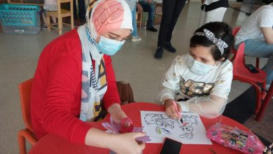 Photo of مركز الإبداع بمستشفى 57357 يكتشف المواهب بين الأطفال مرضى السرطان