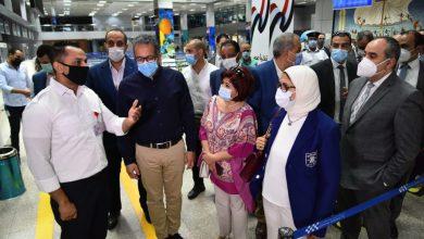 Photo of وزيرة الصحة: تطعيم جميع العاملين بالقطاع السياحي ضد كورونا بالبحر الأحمر وجنوب سيناء