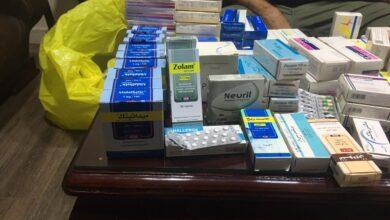 Photo of صحة القاهرة تضبط ادوية مغشوشة ومخدرة بمخزن  تابع لمستشفي خاص بالمقطم